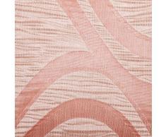 Sancarlos Cojín diseño new age rosa rosa - incluye relleno - con cremallera - jacquard
