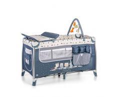 Ms Cuna de Viaje Complet Plus Aluminio Azul ref. 630301