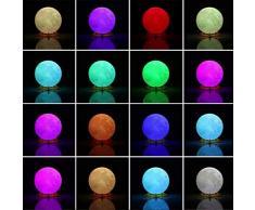 CYMY Juguetes para Niños de 3-12 Años, Estampados En 3D Lámpara de Luna Luz Nocturna para Niños Juguetes Regalos para Niños de 3-12 Años Niños Bebé Amor Regalo de Cumpleaños para Niños Pequeños