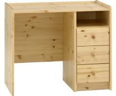 Steens Kids 3-cajones escritorio de pino, acabado aceites naturales