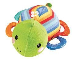 Fisher Price Musical Teething Turtle Multi - juguetes de habilidades motoras (Multi, Felpa, AA)