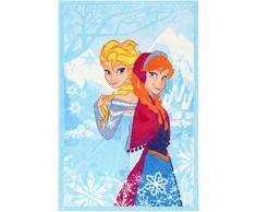 Disney Alfombra Disney A.L. Frozen Cielo/Multicolor 80 x 140 cm
