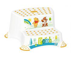 5er Set Z Winnie Pooh blanco: Bañera XXL + Reductor De Inodoro + Orinal de niño + Banco de dos niveles + Contendedor para pañales