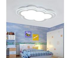 BRIGHTLLT Habitación infantil con sencillo y moderno LED Luz Lámpara de techo creative ultra-delgadas nubes para chicos y chicas para calentar el romántico dormitorio iluminación, 550*350 mm.