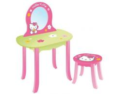 Tocador con silla de madera Hello Kitty