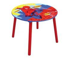 Fun House 711870 Spiderman - Mesa redonda de madera para niños