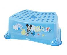 Lulabi - Taburete infantil Disney, Mickey Mouse, color azul