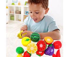 Tongshi 1 Juego de corte de fruta vegetal Juego de imaginación Los niños juguetes educativos Kid