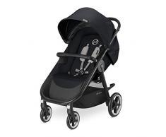 Cybex Agis M-Air 4 - Silla de paseo (desde el nacimiento hasta 17 kg), color Stardust black
