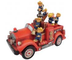 Spieluhrenwelt 14209 - Caja de música con diseño de ositos bomberos