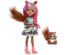 Enchantimals Muñeca Squirrel (Mattel FMT61)