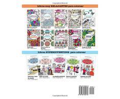 Libro muy RELAJANTE para colorear 3: Un jardin en floracion: Volume 3 (Libros muy RELAJANTES para colorear)