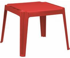 Mesa infantil Rojo Plástico