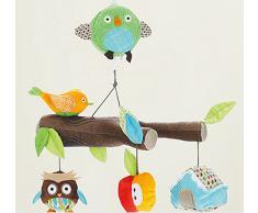 Edealing Cuna infantil cochecito Hanging BellRattle móvil musical de juguete de felpa Nuevo