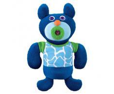 Fisher-Price V1190 Sing-a-Ma-Jigs - Peluche musical, color azul marino [importado de Alemania] (Mattel)