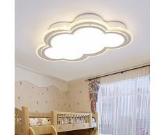 FGSGZ Lámpara De Techo Moderna Simplicidad Alcoba Parlor Iluminación Casa Niños Luces Led Nubes 30W Luz Blanca 55Cm