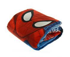 Disney - Colcha de Spiderman de Marvel, 180 x 260 cm, para primavera - verano