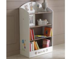 No-Brand 234548 estantería infantil - estanterías infantiles (Standard bookcase, Cualquier género, Beige, Chocolate, Imagen, MDF)