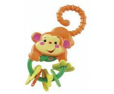Fisher Price - Sonajero y mordedor monito (Mattel L0513)