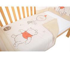 Disney - Juego de ropa para cuna (2 piezas), diseño de Winnie The Pooh