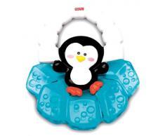 Fisher Price - Sonajero y mordedor pingüino (Mattel K7190)