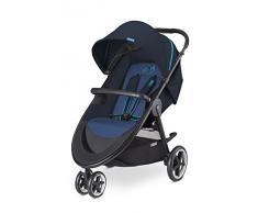 Cybex Agis M-Air 3 - Silla de paseo, desde el nacimiento hasta 17 kg, color azul marino