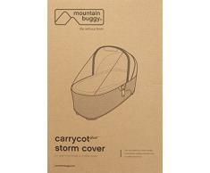 Póster con imagen de montaña a salvo de la posición de la cubierta con forma de carrito de dúo Carrycot