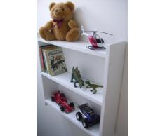 60 cm pino blanco estantes, las niñas dormitorio estantes, niños dormitorio estantes, estantes para niños, estante, guardar juguetes, estantería