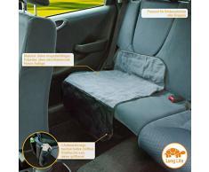 DIADO 30032.71741 - Base protectora para asiento del coche (52 x 90 cm), color negro y gris