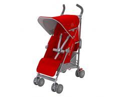 Maclaren Quest - Silla de paseo, nueva colección, color cardinal y plata