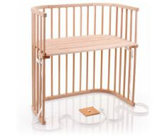 Babybay Boxspring - Cuna de colecho con ventilación extra, color madera natural