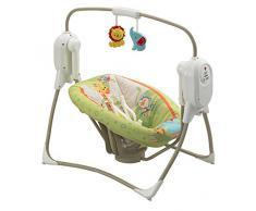 Fisher Price BFH05 columpio para bebés - columpios para bebés Verde, Gris, Color blanco
