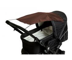 Altabebe AL7010-07 - Parasol con protección UV para carrito o silla de paseo, color marrón