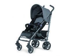 Chicco Lite Way2 - Silla de paseo ligera y compacta, 7,5 kg, color gris