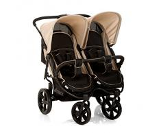 Hauck Roadster Duo SLX - Cochecito, color caviar y almond