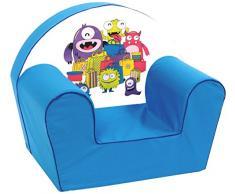 Knorr-bebé, silla para niños, razón: Monsters, azul (azul)