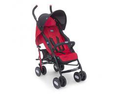 Chicco Echo - Silla de paseo, ligera y compacta, 7,6 kg, colección 2017, color rojo