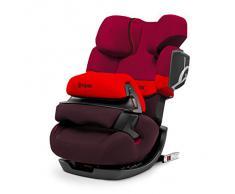 Cybex Pallas 2 Fix - Silla de coche, grupo 1/2/3 (9-36 kg, 9 meses-12 años), con Isofix, color rojo