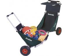 Eckla Beach Rolly - Carrito convertible en silla de playa azul