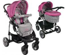 Carrito convertible con capazo ARTI Comfort B503 2w1 Pink/Gray