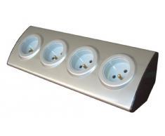 Inotech - Enexo - cocina bloques - bloque de 4 zócalos 16a a cable