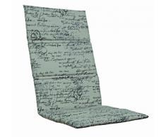Kettler 0309001-8712 - Cojín para silla de jardín (aluminio y textil, 123 x 50 x 3 cm), color beige