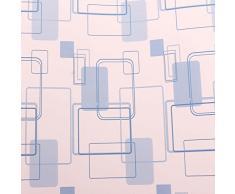 Bluelover 200CM flor puntos Sticker estante gabinete cajón revestimiento cocina armario mesa Mat Cojín Home Decor-azul