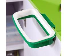 VANKER Colgando armario de la cocina de la puerta del soporte de la papelera de basura La basura estante Bolsa de almacenamiento
