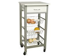 Carrito de cocina compra barato carritos de cocina for Carro frutero cocina