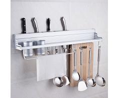 Organizador colgador gran capacidad multiespacio almacenamiento especiero utensilios cocina de OPEN BUY