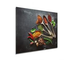 Restaurante/Cocina Especias/Ingredientes Cuadro en Lienzo, HD Modernos Modular Poster Impresiones Pintura Decorativa Artístico Impreso Hotel Cuadros de Salón,60 * 40cm