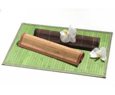 Ritzenhoff & Breker 394955 - Mantel individual de bambú (6 unidades), color verde