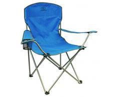 Highlander Traquair Folding Chair - Silla de camping, color verde azulado