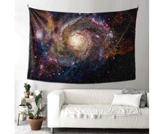 Decoraciones de cocina Arte de pared Elementos de la nebulosa de la galaxia Esta imagen Decoración de pared amueblada Tapiz colgante Decoración de pared rectangular 90x60 pulgadas (229x152cm) Arte d
